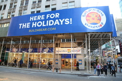Build-A-Bear Workshop Pops Up in Times Square