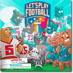 Let's Play Football book & App!