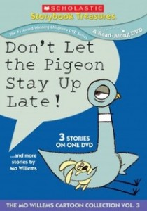 Don't Let the Pigeon Stay Up Late and More Stories by Mo Willems (DVD review)