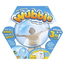 Wubble Ball, A Bubble You Can Play With!