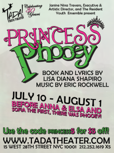 Tada Youth Theater presents Princess Phooey