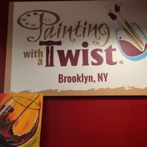 Painting With A Twist Comes to Brooklyn