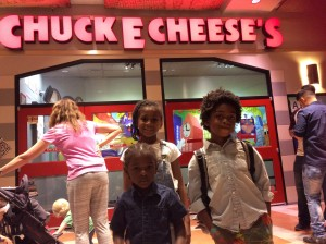 I Visited Chuck E. Cheese