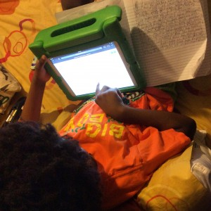 Blogging Hack From A Six Year Old