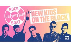 New Kids on the Block Rock this Boat