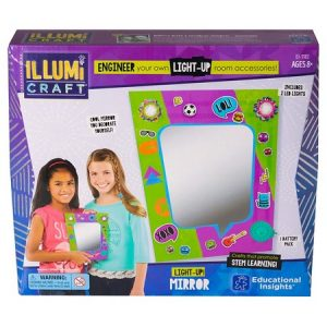 IllumiCraft Light-Up Mirror