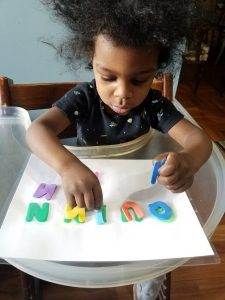 Letter Recognition Toddler Activity