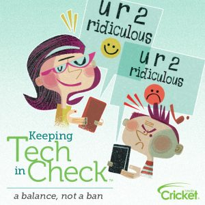 Keeping Tech In Check & Magazine Giveaway