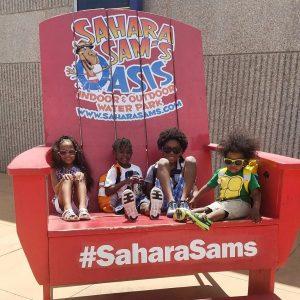 Summer Fun at Sahara Sams