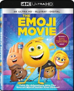 The Emoji Movie on DVD & Coloring Pages