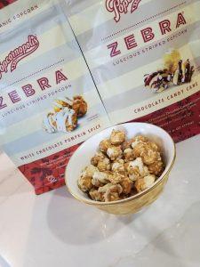 Popcornopolis Zebra Popcorn Giveaway