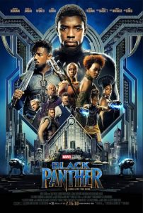 Black Panther in Theaters 2/16/18