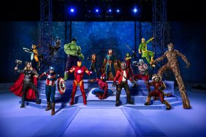 Marvel Universe LIVE! Super Hero Training Camp in NYC