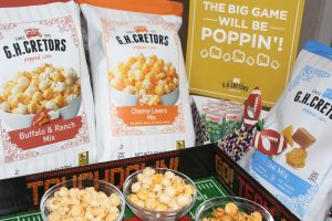 Game Day Ready with G.H. Cretors Popcorn