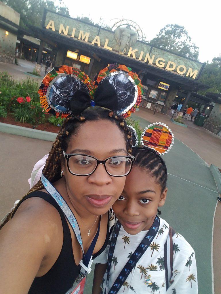 Animal Kingdom selfie