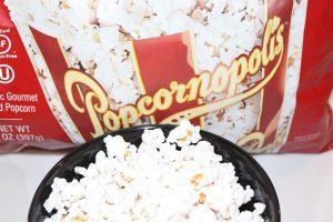 Organic Nearly Naked Popcorn from Popcornopolis