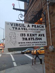Virgil. A. Peach Pop-Up Virginia Beach Themed Escape Room